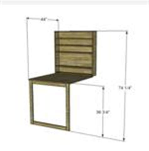 Wall Desk Plans by Folding Wall Desk Woodworking Plans Pdf Woodworking