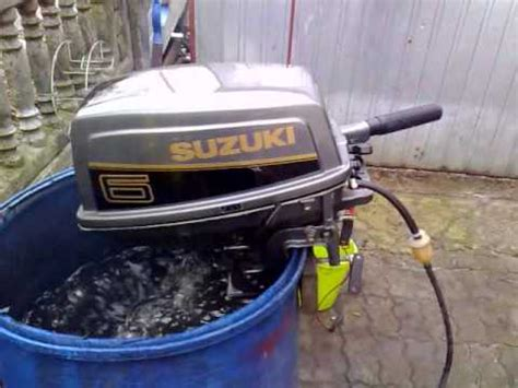 suzuki 6 hp outboard motor 1993r 2 stroke dwusuw