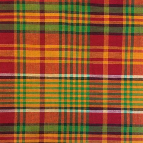 define plaid madras print fabric 45 quot 4 99 yard wholesale pricing