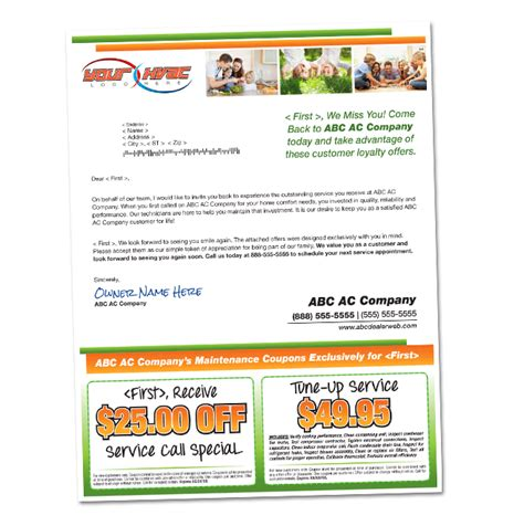 Lost Customer Letter Regain Your Lost Customers Americanhvacmail