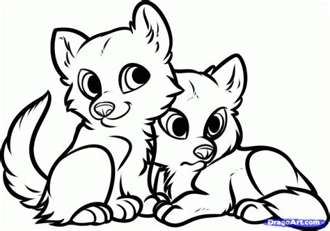 coloring pages of cute wolves baby wolf coloring pages az coloring pages