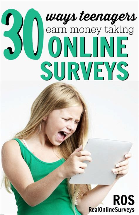 Surveys For Real Money - 30 ways teenagers earn money with online surveys