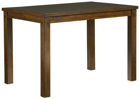 square counter height dining table cameron golden tobacco brown square counter height dining