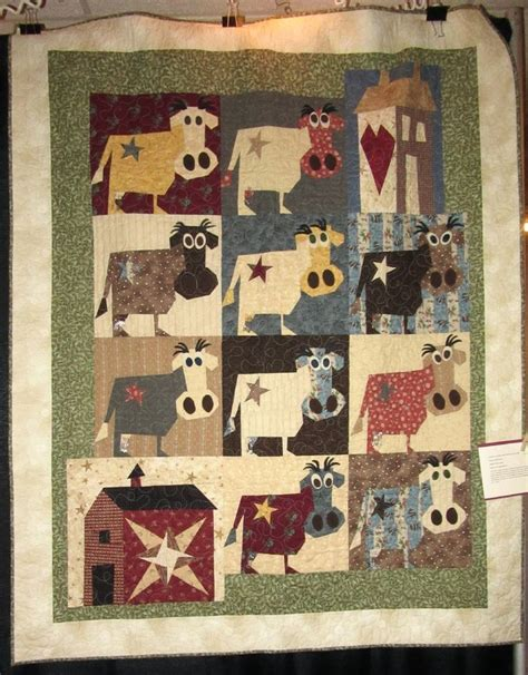 Patchwork Cow - 144 best images about buggy barn quilts on