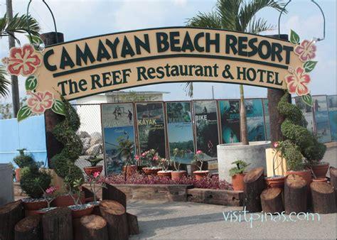 camayan resort map entrance of camayan resort subic bay visitpinas