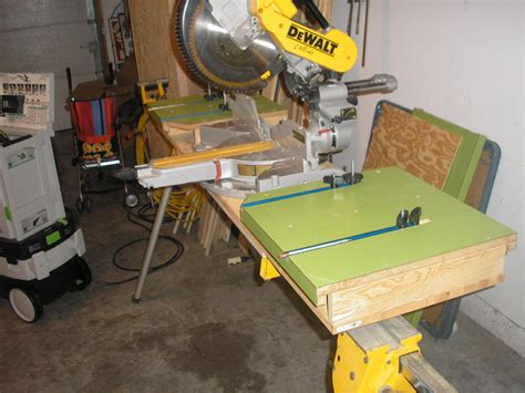 bench chop saw 100 mitre bench work bench w slide out miter