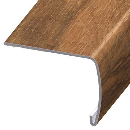 shaw flush stair nose versaedge stair nose 94 inch shaw resort teak lx90100602 onflooring