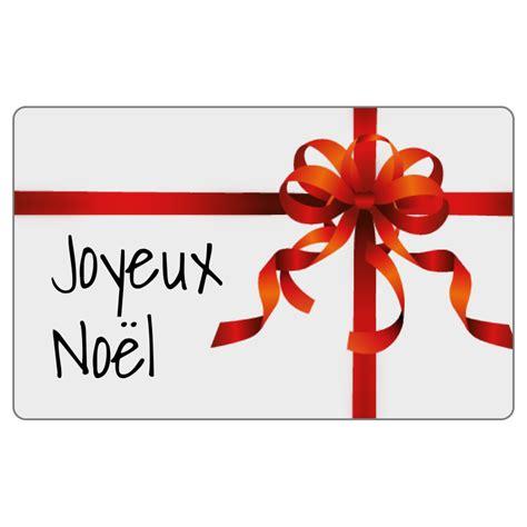 Etiquettes Cadeau Noel by Lot 500 233 Tiquettes Autocollantes Cadeau No 235 L Avec Ruban