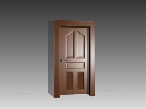 3d Door by Free Door 3d Model Images