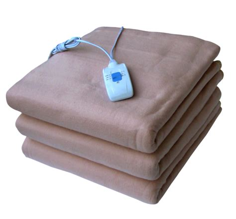 Electric Blankets Bed by Pindia 2pc Combo Electric Blanket Green Single Beige