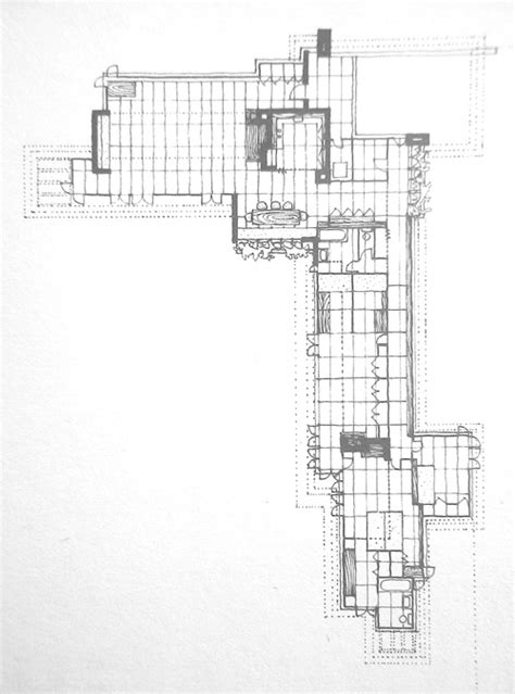 usonian floor plans usonian house plans