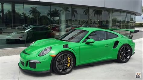 2016 Viper Green Porsche 911 Gt3 Rs Paint To Sle 500 Hp