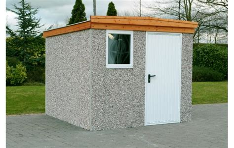 Concrete Sheds Pent Cheap Concrete Garden Sheds And