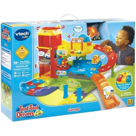 Vtech Toot Toot Car Garage by Vtech Toot Toot Drivers Garage At Mighty Ape