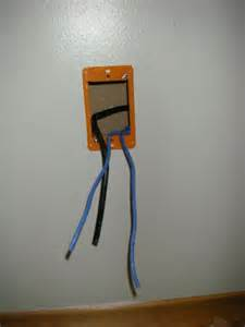 wiring how can i run a coaxial cable into an existing single electrical outlet home