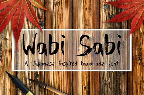 wabi sabi script fonts  creative market