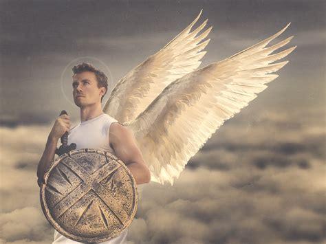 The Archangel Michael st michael the archangel the saints project