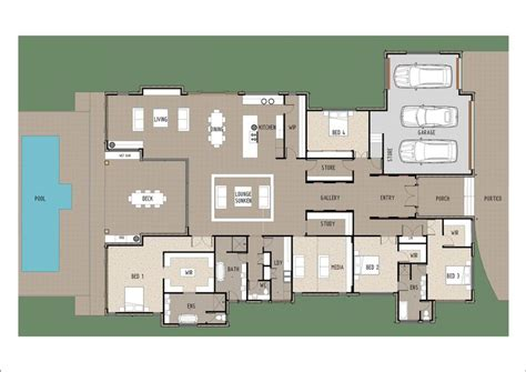 house plans with large entertainment area home deco plans