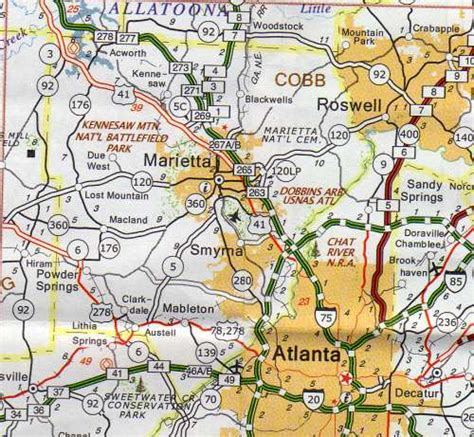 Cobb County Ga Records Cobb County Map Hotels Motels Vacation Rentals Places To