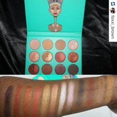 Juvia S Place Nubian 2nd Edition Palette Yellow 100 Original makeup nails on eyeshadow palette it cosmetics and swatch