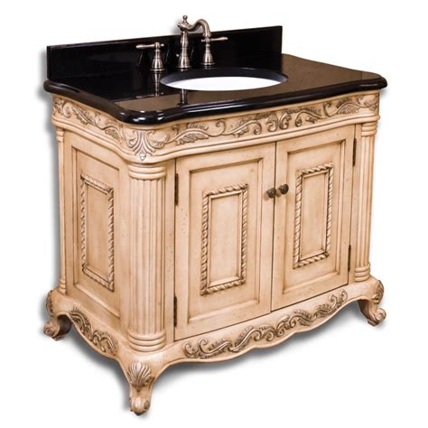 antique white ornate bathroom vanity buy
