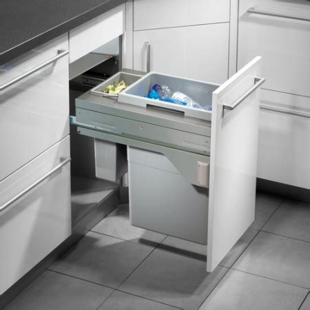 kitchen cabinet bin internal bins integrated bins the bin company uk