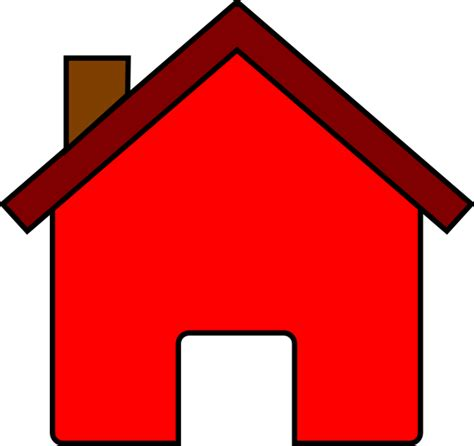 house clip art red house clip art at clker com vector clip art online royalty free public domain