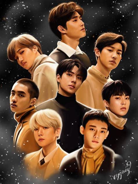 exo universe photo fanbook fan art social platform