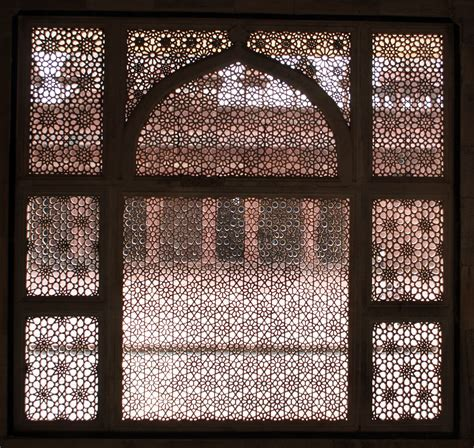 islamic pattern work mughal architecture windows google search clothing