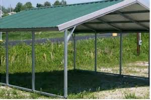 Open Carports by Gallery For Gt Open Metal Garage