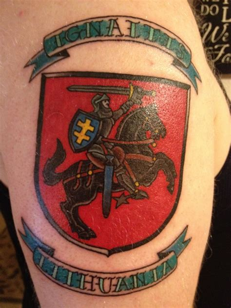 lithuanian tattoo 96 best lt images on ideas
