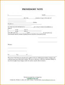 Personal Loan Promissory Note Template by Free Promissory Note Template For Personal Loan Best