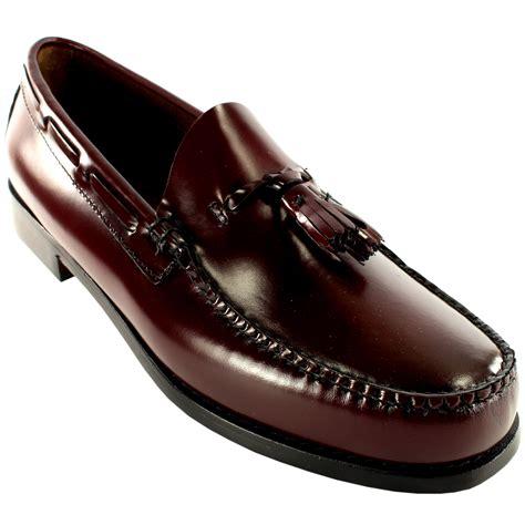 bass mens shoes loafers mens g h bass larkin slip on tassel smart loafer