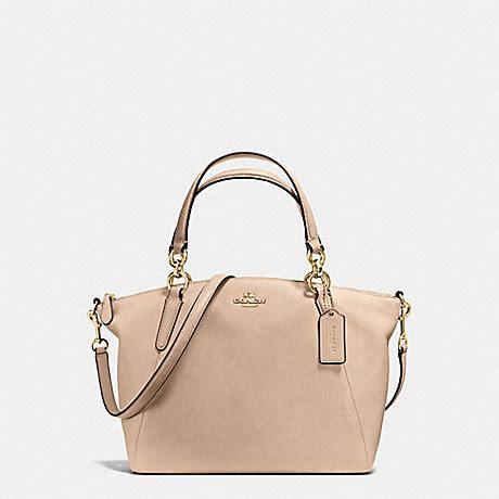 Coach Kelsey Small Beechwood small kelsey satchel in pebble leather f36675
