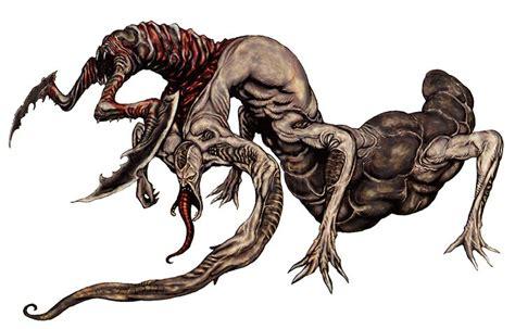 analyzing fallout 4 concept art aliens boss enemies resident evil female monsters u3 biohazard 4 all