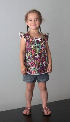 158 best images about my little girl on pinterest dibujo pleated flutter sleeve dress free pattern in size 4t