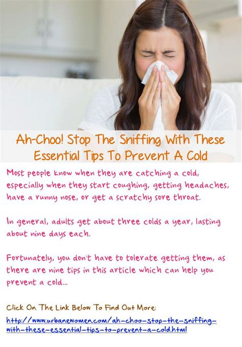 Ah Choo Flu by Ah Choo Stop The Sniffing With These Essential Tips To