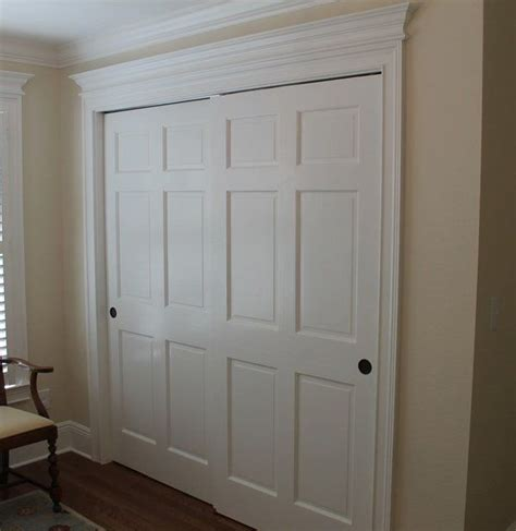 built in closet doors best 25 bedroom closet doors ideas on sliding