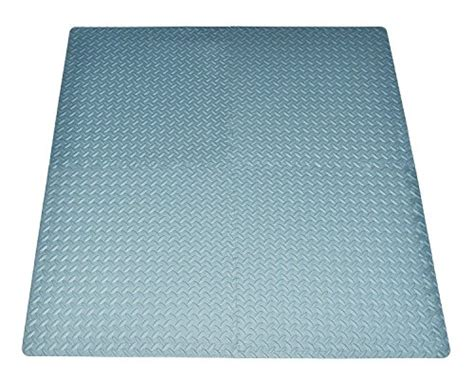 Square Exercise Mat by 16 Square Ft Grey Exercise Mat Anti Fatigue Interlocking Puzzle Foam Floor Proctecting 4