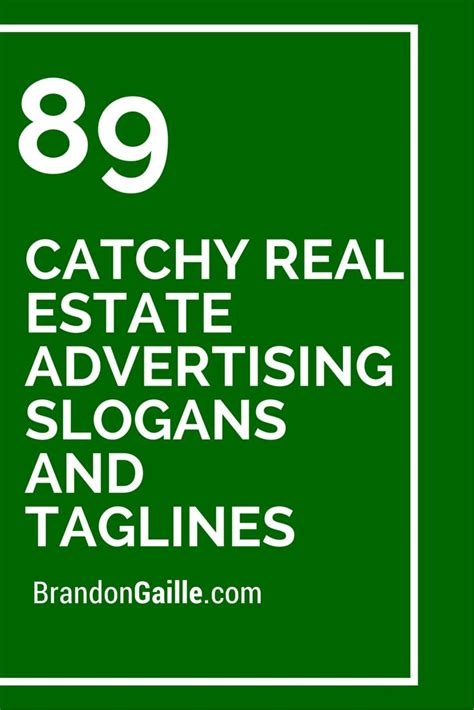 25 best ideas about real estate slogans on