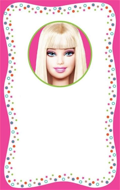 imagenes originales cumpleaños invitaciones de barbie para un cumplea 195 194 177 os infantil