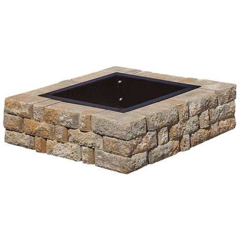 Stone Fire Pit Kit Outdoor Stone Fire Pit Kits 8 800x600 Outdoor Pit Kit