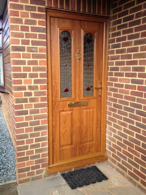 New Door In Beare Green Dorking Nottingham Style New Composite Front Door