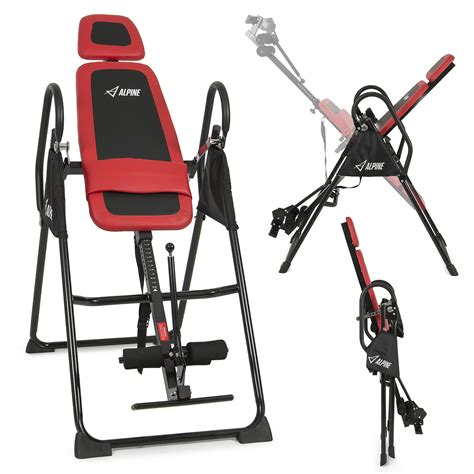 inversion table for lower back inversion table deluxe fitness chiropractic table back