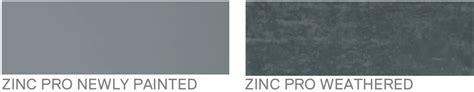what color is zinc standing seam metal roofs photovoltaic systems