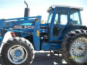 salvaged ford 8630 tractor for used parts eq 18178 all