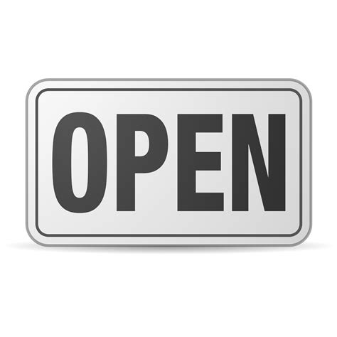 open clipart clipart open sign plastic