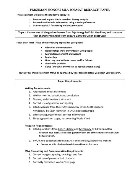 mla research paper template political science research paper guidelines