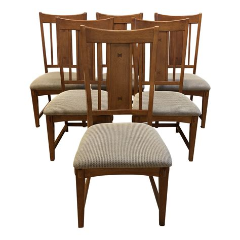 craftsman style dining chairs set   design