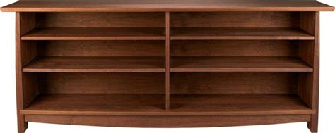 amish grand river console bookcase